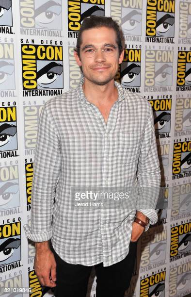 "Actor Jason Ralph at ""The Magicians"" Press Line during Comic-Con International 2017 at Hilton Bayfront on July 22, 2017 in San Diego, California."