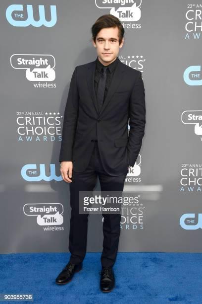 Actor Jason Ralph attends The 23rd Annual Critics' Choice Awards at Barker Hangar on January 11 2018 in Santa Monica California