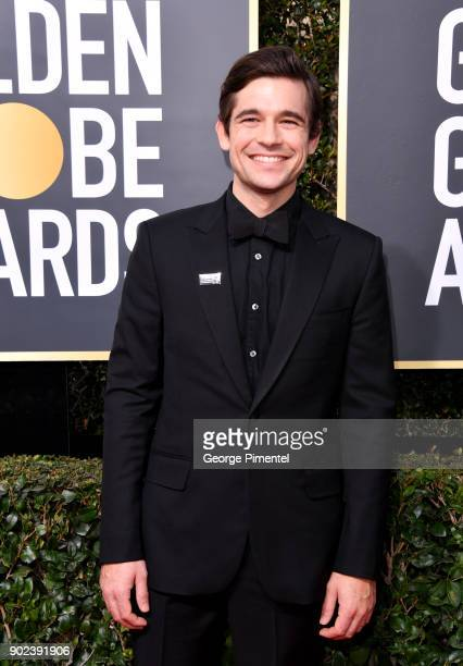 Actor Jason Ralph attends The 75th Annual Golden Globe Awards at The Beverly Hilton Hotel on January 7 2018 in Beverly Hills California