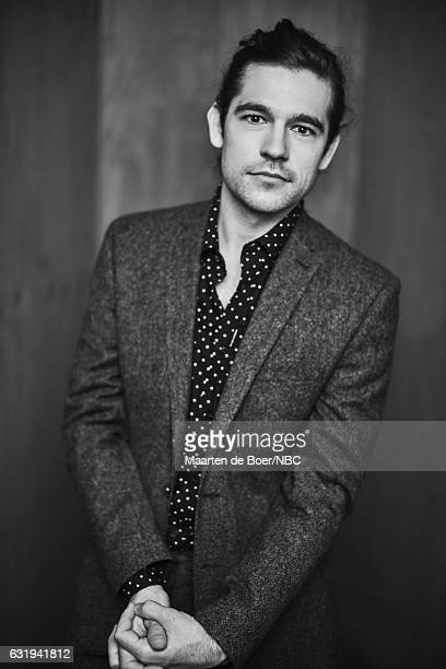 Actor Jason Ralph of 'The Magicians' poses for a portrait in the NBCUniversal Press Tour portrait studio at The Langham Huntington Pasadena on...