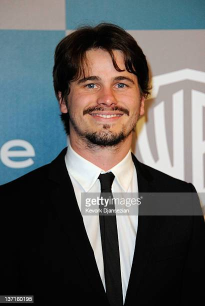Actor Jason Ritter arrives at 13th Annual Warner Bros and InStyle Golden Globe Awards After Party at The Beverly Hilton hotel on January 15 2012 in...