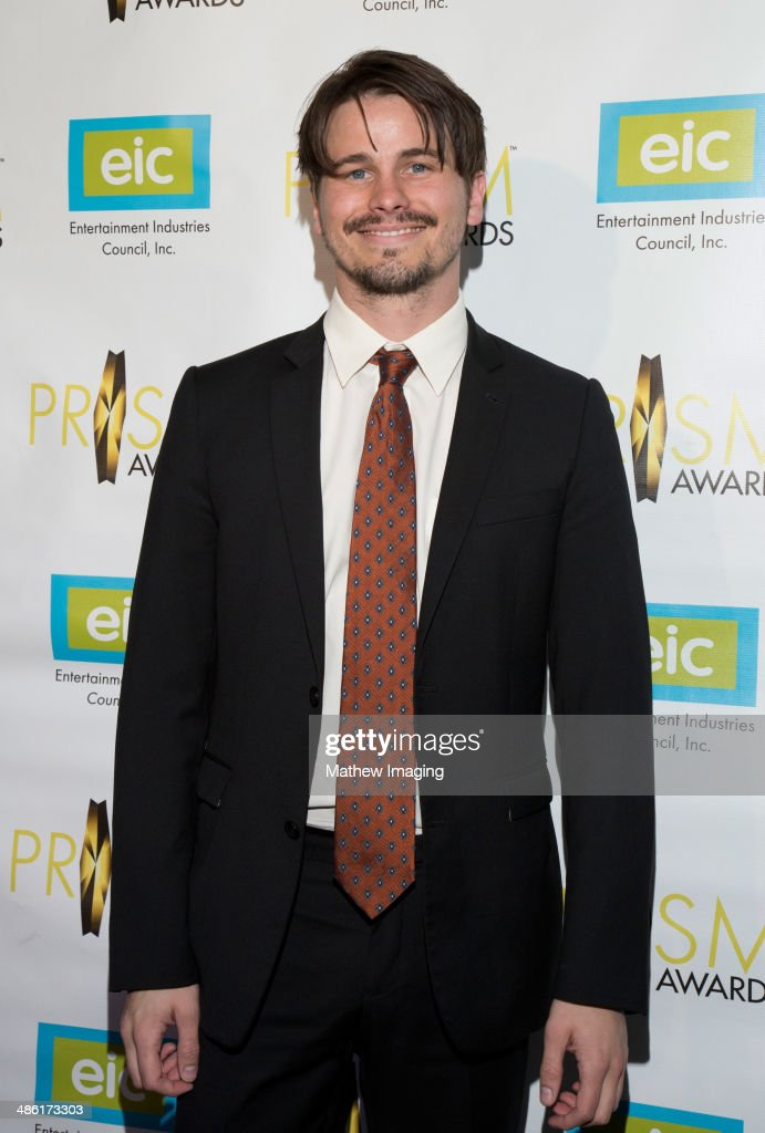 Actor Jason Ritter arrives at the 18th Annual PRISM Awards at Skirball Cultural Center on April 22, 2014 in Los Angeles, California.