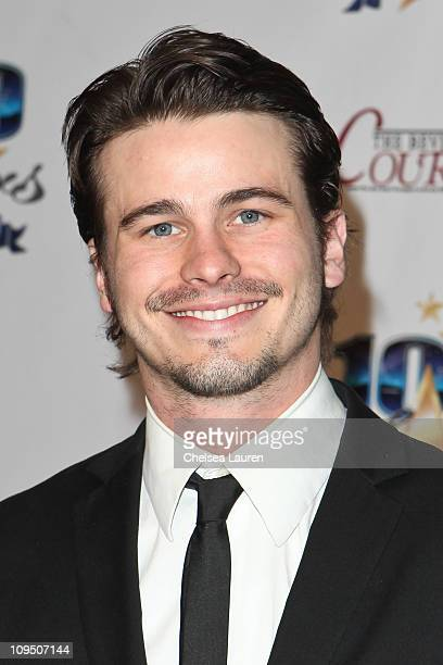 Actor Jason Ritter arrives at the 21st Annual Night of 100 Stars Awards Gala at Beverly Hills Hotel on February 27, 2011 in Beverly Hills, California.
