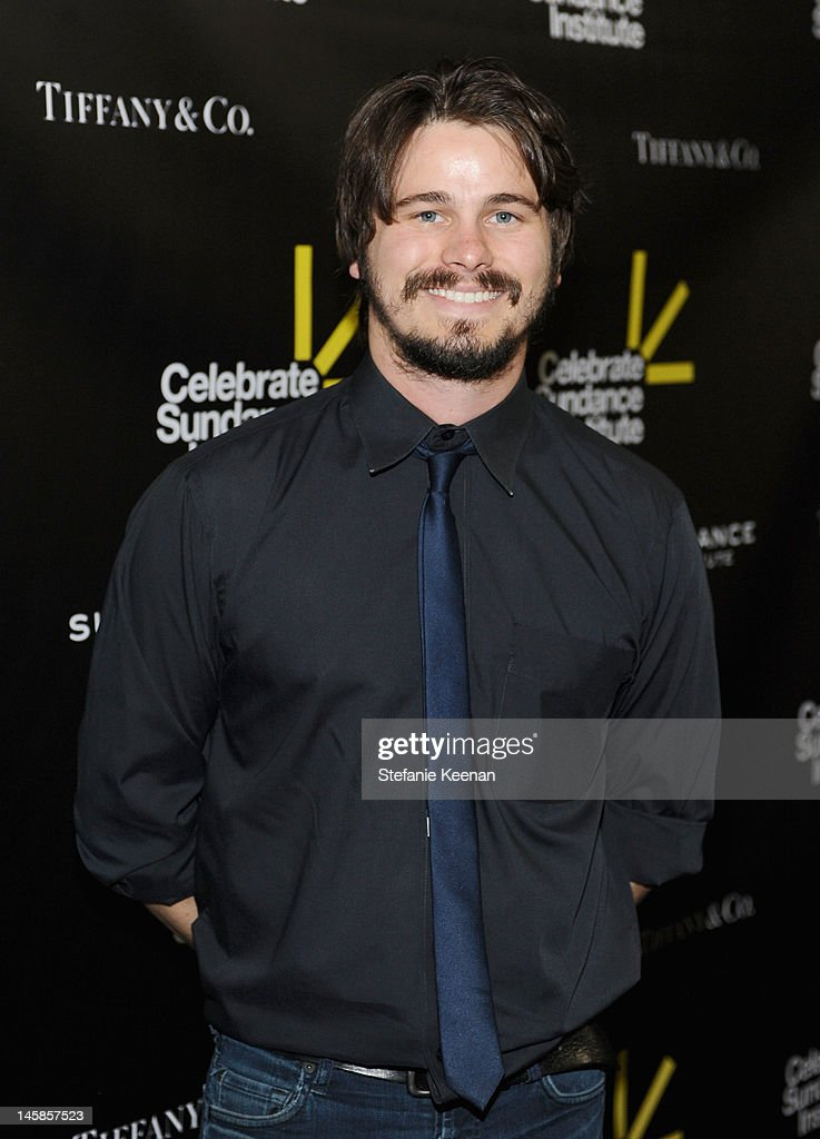 Actor Jason Ritter arrives at the Sundance Institute Benefit presented by Tiffany & Co. in Los Angeles held at Soho House on June 6, 2012 in West Hollywood, California.