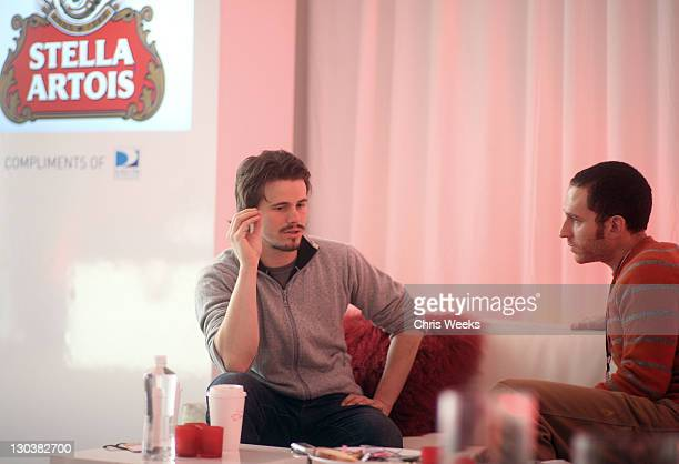 Actor Jason Ritter at the Stella Artois Cutting Room at Village at the Yard on January 26, 2010 in Park City, Utah.
