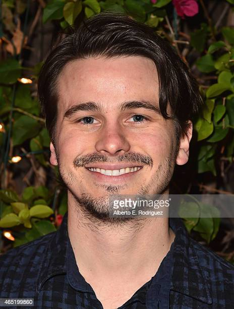 Actor Jason Ritter attends a screening of Wild Canaries at Cinefamily on March 3 2015 in Los Angeles California
