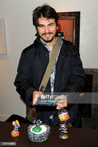 Actor Jason Ritter attends day 1 of the Nintendo 3DS Experience Lounge on January 20 2012 in Park City Utah