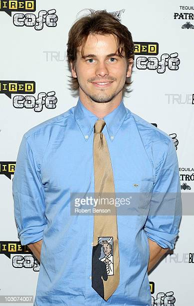 Actor Jason Ritter attends Day 3 of the WIRED Cafe at ComicCon 2010 held at the Omni Hotel on July 24 2010 in San Diego California