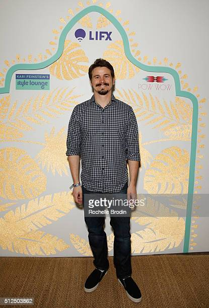 Actor Jason Ritter attends Kari Feinstein's Style Lounge presented by LIFX on February 26, 2016 in Los Angeles, California.