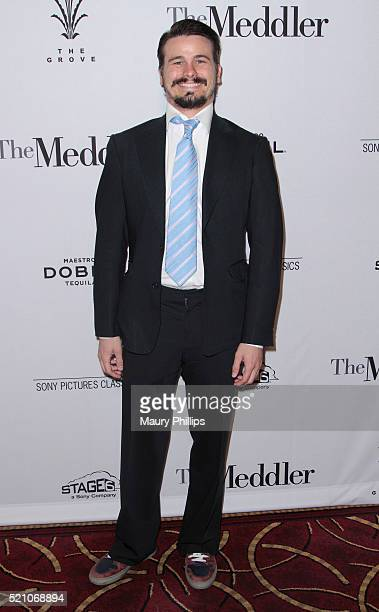 """Actor Jason Ritter attends Sony Pictures Classics Los Angeles Premiere of """"The Meddler"""" at Pacific Theatre at The Grove on April 13, 2016 in Los..."""
