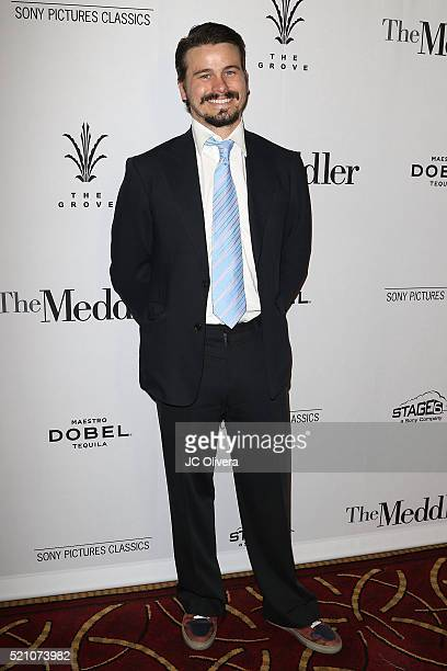 Actor Jason Ritter attends Sony Pictures Classics Los Angeles Premiere Of 'The Meddler' at Pacific Theatre at The Grove on April 13, 2016 in Los...