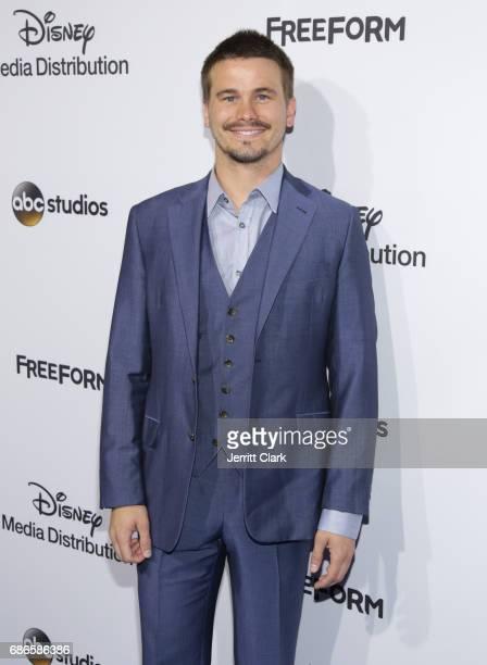 Actor Jason Ritter attends the 2017 ABC/Disney Media Distribution International Upfront at Walt Disney Studio Lot on May 21 2017 in Burbank California