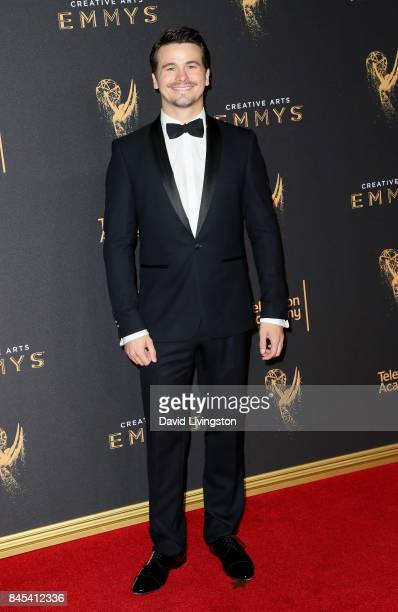 Actor Jason Ritter attends the 2017 Creative Arts Emmy Awards at Microsoft Theater on September 10 2017 in Los Angeles California