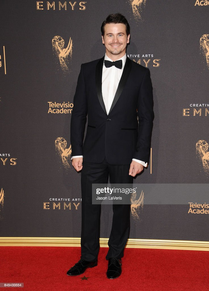 Actor Jason Ritter attends the 2017 Creative Arts Emmy Awards at Microsoft Theater on September 10, 2017 in Los Angeles, California.