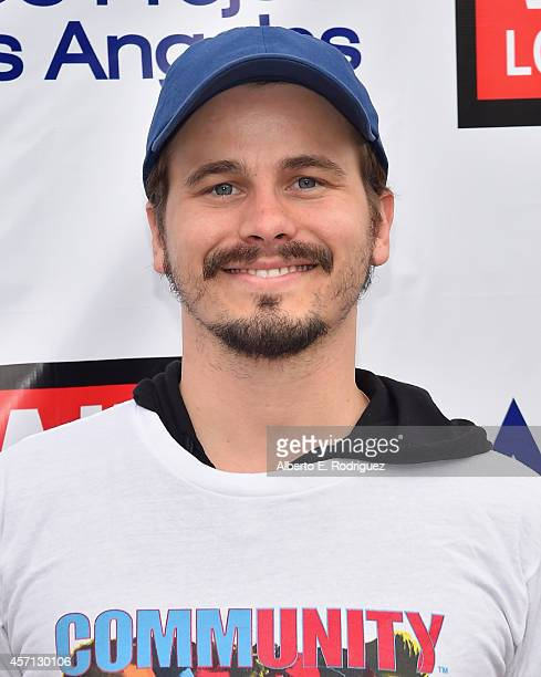 Actor Jason Ritter attends the 30th Annual AIDS Walk Los Angeles on October 12 2014 in West Hollywood California