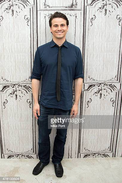 Actor Jason Ritter attends the AOL Build Speaker Series at AOL Studios In New York on June 22 2015 in New York City