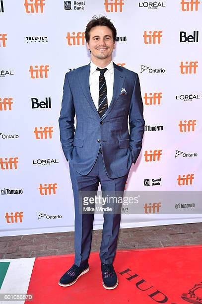 Actor Jason Ritter attends the 'Carrie Pilby' premiere during the 2016 Toronto International Film Festival at Ryerson Theatre on September 9 2016 in...