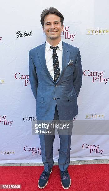 Actor Jason Ritter attends the Carrie Pilby TIFF Party Hosted By CIROC And Grolsch at Storys Building on September 9 2016 in Toronto Canada