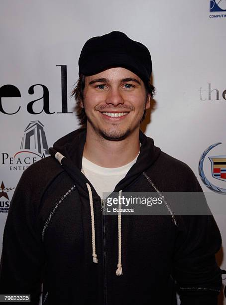 """Actor Jason Ritter attends """"The Deal"""" Party at the Movieline House on January 22, 2008 in Park City, Utah."""