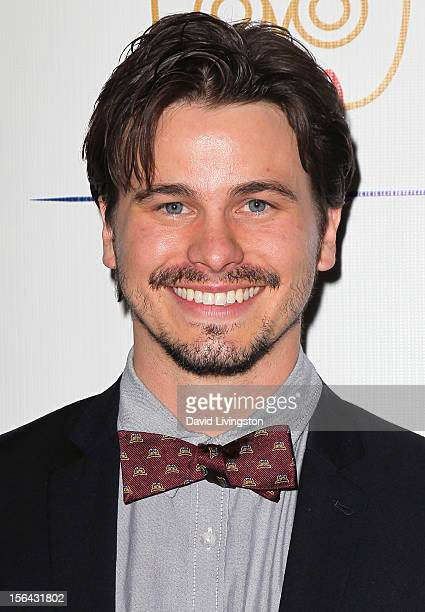 Actor Jason Ritter attends the launch of Tie The Knot hosted by Jesse Tyler Ferguson and his partner Justin Mikita at The London West Hollywood on...