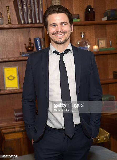 Actor Jason Ritter attends The Meddler TIFF party hosted by GREY GOOSE Vodka and Soho Toronto at Soho House Toronto on September 14 2015 in Toronto...