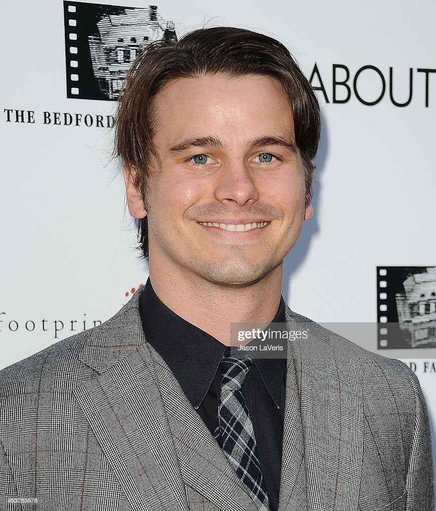 Actor Jason Ritter attends the premiere of 'About Alex' at ArcLight Hollywood on August 6, 2014 in Hollywood, California.