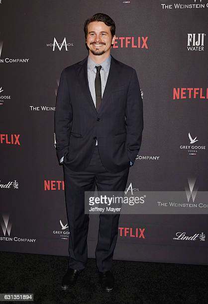 Actor Jason Ritter attends The Weinstein Company and Netflix Golden Globe Party presented with FIJI Water Grey Goose Vodka Lindt Chocolate and...