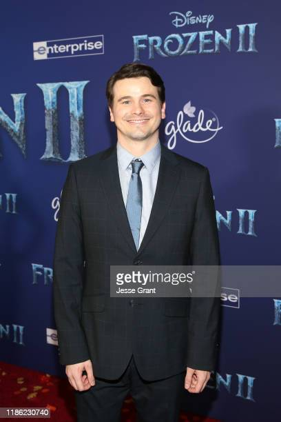 Actor Jason Ritter attends the world premiere of Disney's Frozen 2 at Hollywood's Dolby Theatre on Thursday November 7 2019 in Hollywood California