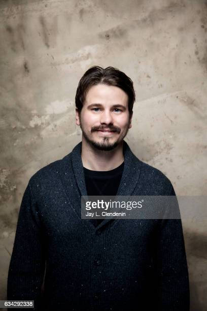 Actor Jason Ritter from the film Bitch is photographed at the 2017 Sundance Film Festival for Los Angeles Times on January 20 2017 in Park City Utah...