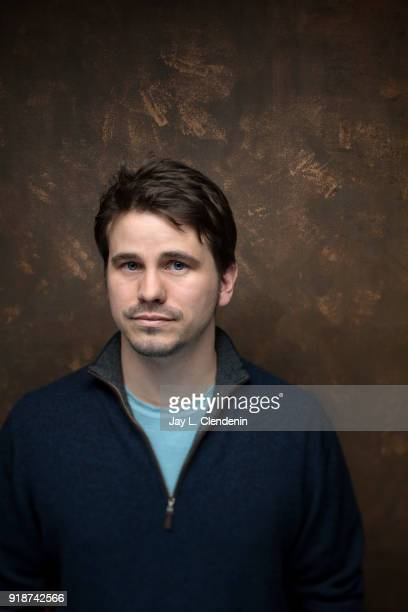 Actor Jason Ritter from the film 'The Tale' is photographed for Los Angeles Times on January 21 2018 in the LA Times Studio at Chase Sapphire on Main...
