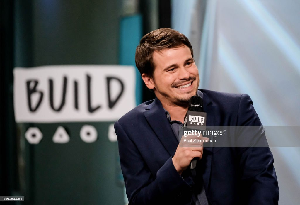 Actor Jason Ritter visits Build Presents discussing 'Kevin (Probably) Saves The World' at Build Studio on October 9, 2017 in New York City.