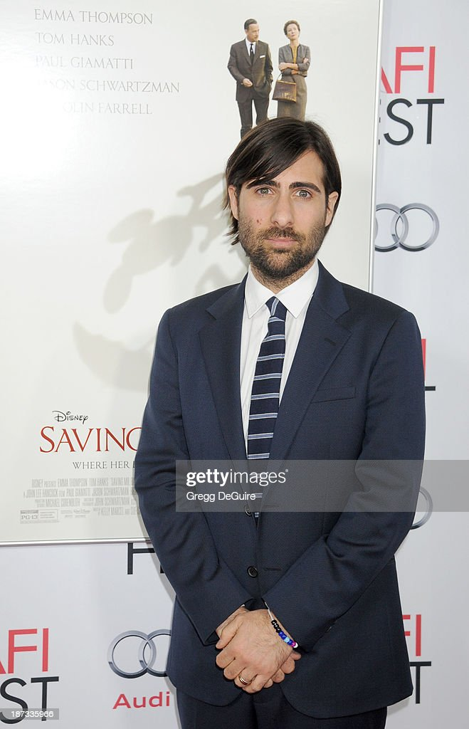 Actor Jason Schwartzman arrives at AFI FEST 2013 Opening Night Gala premiere of 'Saving Mr. Banks' at TCL Chinese Theatre on November 7, 2013 in Hollywood, California.