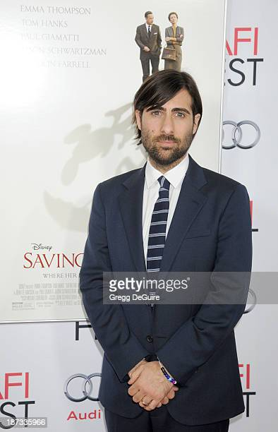 Actor Jason Schwartzman arrives at AFI FEST 2013 Opening Night Gala premiere of Saving Mr Banks at TCL Chinese Theatre on November 7 2013 in...