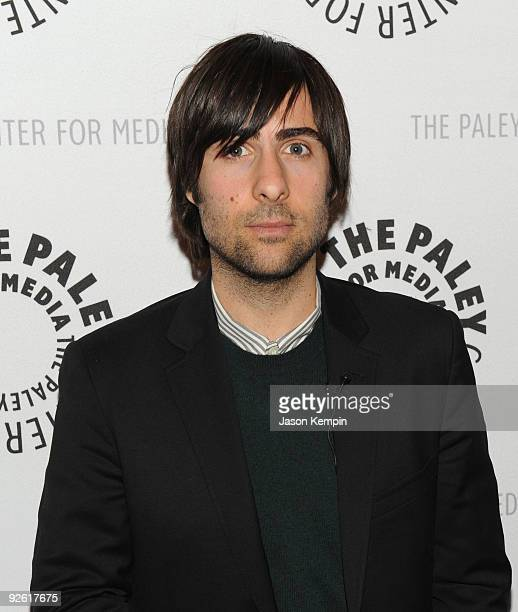 Actor Jason Schwartzman attends a Bored To Death panel at the Paley Center For Media on November 2 2009 in New York City