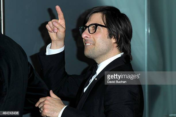 Actor Jason Schwartzman attends the 21st Century Fox and Fox Searchlight Oscar Party at BOA Steakhouse on February 22 2015 in West Hollywood...