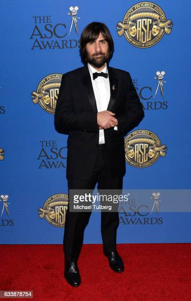 Actor Jason Schwartzman attends the 31st Annual American Society Of Cinematographers Awards at The Ray Dolby Ballroom at Hollywood Highland Center on...