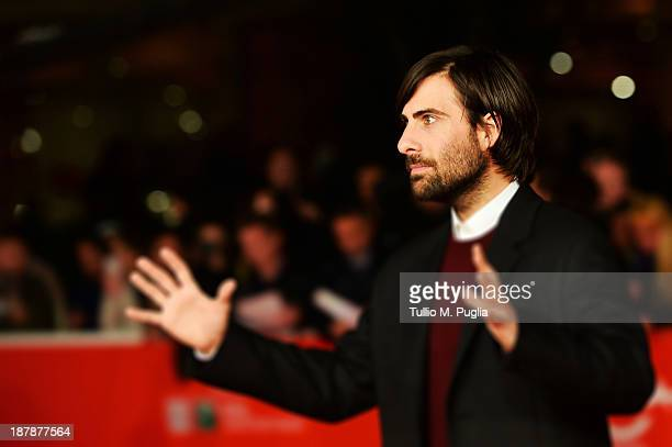 Actor Jason Schwartzman attends Wes Anderson And Roman Coppola On The Red Carpet during The 8th Rome Film Festival at Auditorium Parco Della Musica...