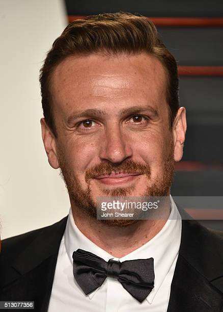 Actor Jason Segel arrives at the 2016 Vanity Fair Oscar Party Hosted By Graydon Carter at Wallis Annenberg Center for the Performing Arts on February...