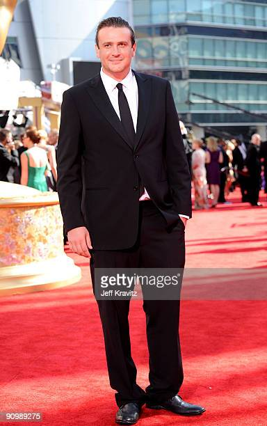 Actor Jason Segel arrives at the 61st Primetime Emmy Awards held at the Nokia Theatre on September 20 2009 in Los Angeles California