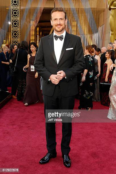 Actor Jason Segel attends the 88th Annual Academy Awards at Hollywood Highland Center on February 28 2016 in Hollywood California
