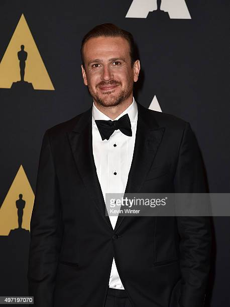 Actor Jason Segel attends the Academy of Motion Picture Arts and Sciences' 7th annual Governors Awards at The Ray Dolby Ballroom at Hollywood...