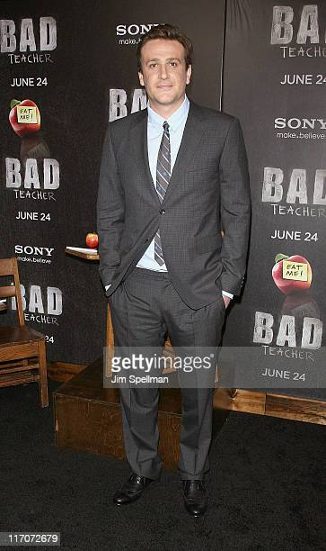 Actor Jason Segel attends the premiere of 'Bad Teacher' at the Ziegfeld Theatre on June 20 2011 in New York City