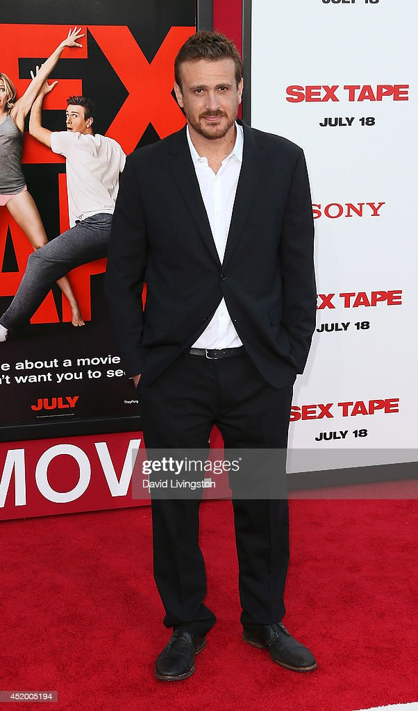 Actor Jason Segel attends the premiere of Columbia Pictures' 'Sex Tape' at the Regency Village Theatre on July 10, 2014 in Westwood, California.