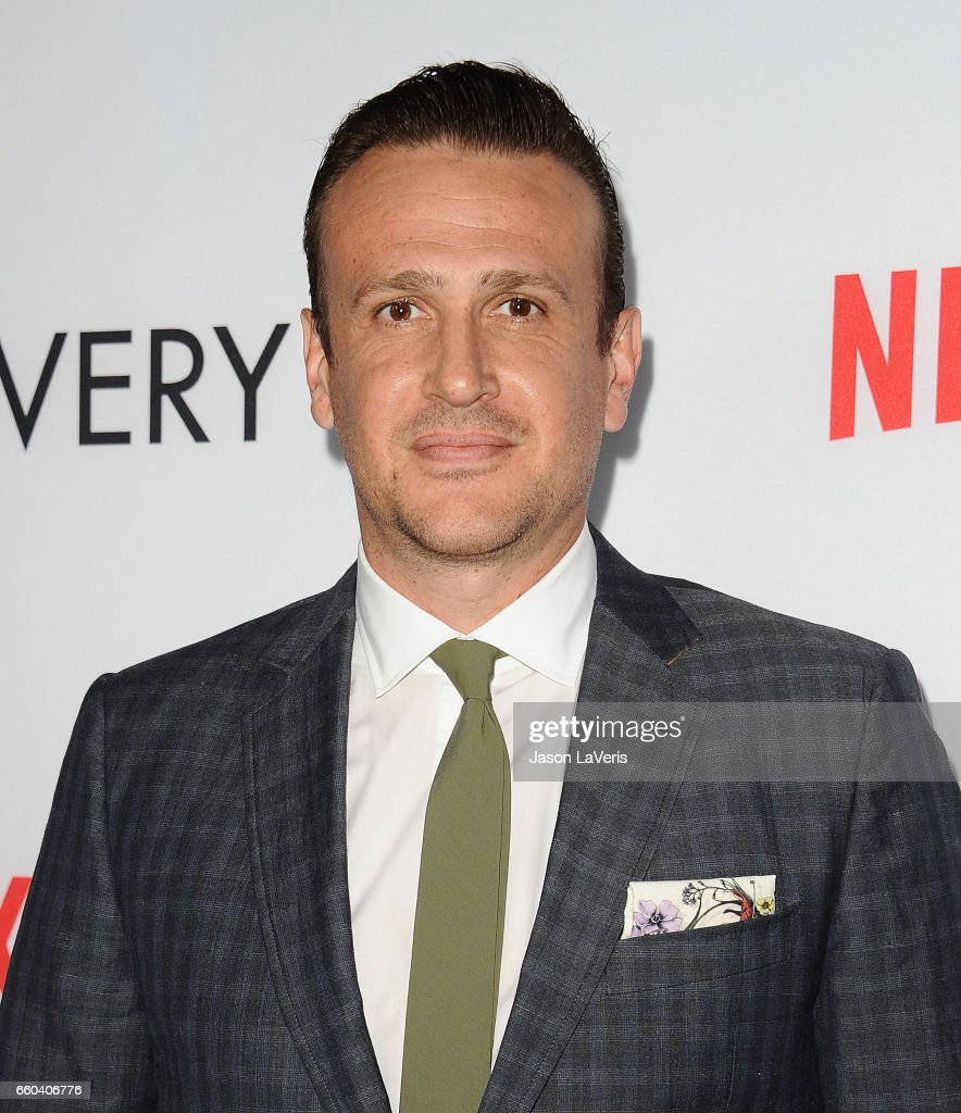 Actor Jason Segel attends the premiere of 'The Discovery' at the Vista Theatre on March 29, 2017 in Los Angeles, California.