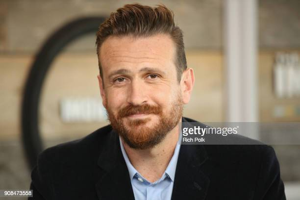 Actor Jason Segel of 'Come Sunday' attends The IMDb Studio and The IMDb Show on Location at The Sundance Film Festival on January 21 2018 in Park...