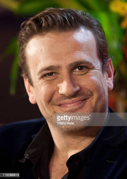 Actor Jason Segel visits YoungHollywoodcom to promote Bad Teacher at the Young Hollywood Studio on June 5 2011 in Los Angeles California