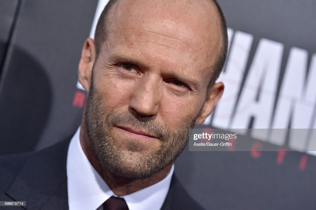 Actor Jason Statham arrives at the premiere of Summit Entertainment's 'Mechanic: Resurrection' at ArcLight Hollywood on August 22, 2016 in Hollywood, California.