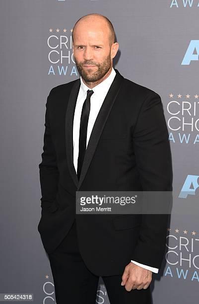 Actor Jason Statham attends the 21st Annual Critics' Choice Awards at Barker Hangar on January 17 2016 in Santa Monica California