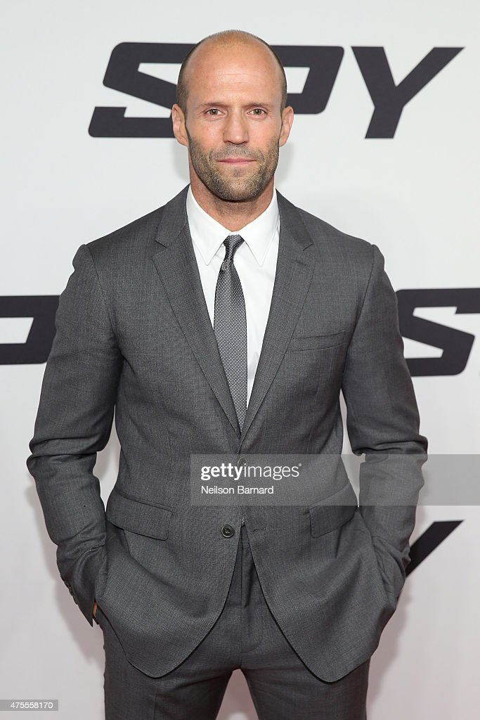 Actor Jason Statham attends the 'Spy' New York Premiere at AMC Loews Lincoln Square on June 1, 2015 in New York City.