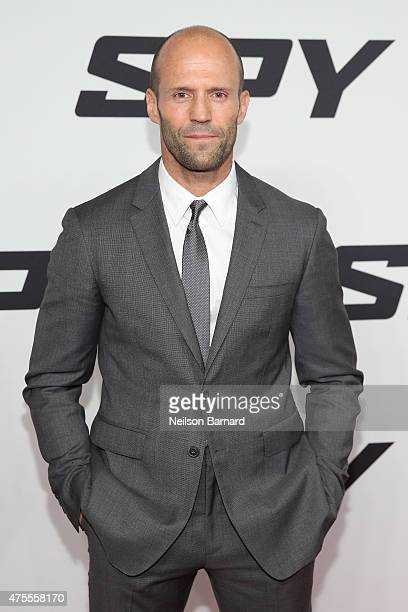 Actor Jason Statham attends the 'Spy' New York Premiere at AMC Loews Lincoln Square on June 1 2015 in New York City